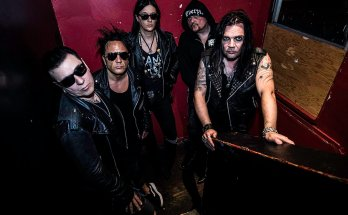 Band Promo Image, Goth, Metal, Red Walls, Staicase