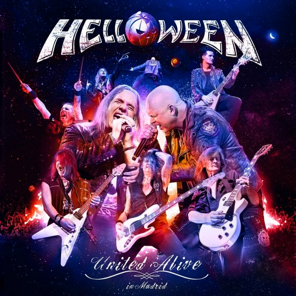 Live Album Poster, Helloween, Band members
