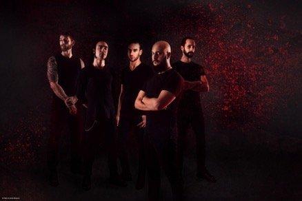 Hideous Divinity, Band Members, Red, Black, Dark, Metal, Rock