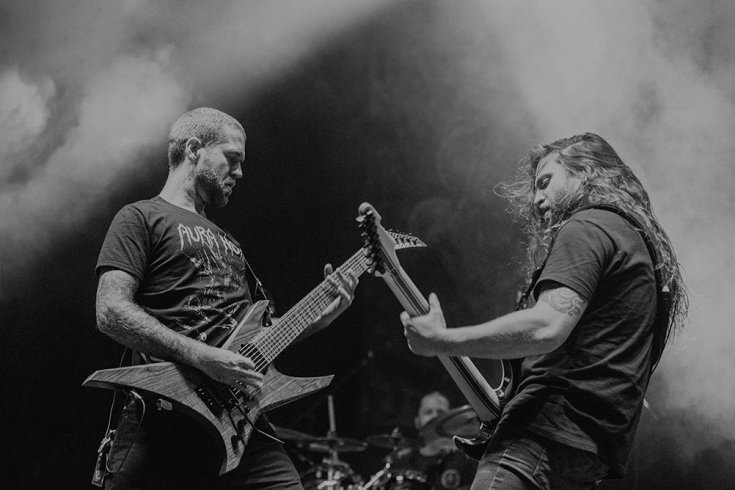 Revocation live on stage
