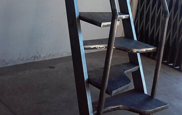 escadas degraus alternados