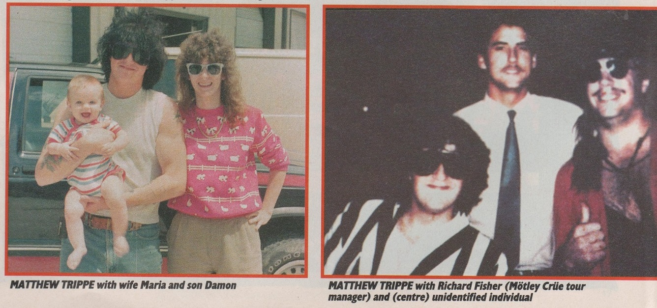 Image result for kerrang nikki sixx trippe 1988