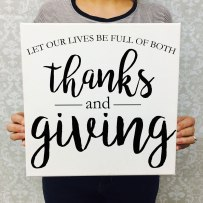Thanks-and-giving