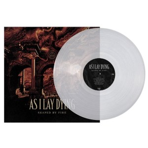 As I Lay Dying - Shaped By Fire, Gatefold, Ltd Clear Vinyl, 300 Copies