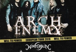 Arch - GIG REVIEW: Arch Enemy, Wintersun, Tribulation & Jinjer Live at La Riviera, Madrid