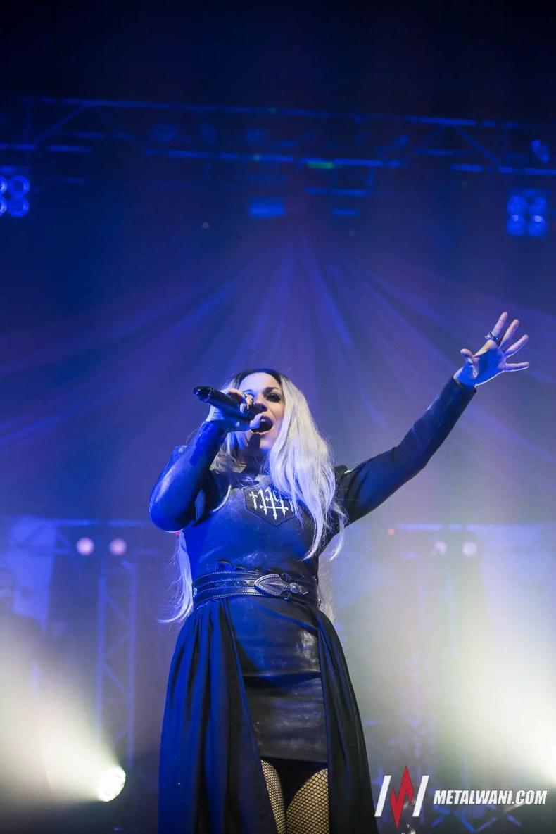 Lacuna Coil 11 - Cristina Scabbia Is 'Not Afraid' Of Possible Terrorist Attack At LACUNA COIL Concert