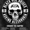 AA Tour - GIG REVIEW: Black Veil Brides, Asking Alexandria & Crown The Empire Live at Rams Head Live, Baltimore