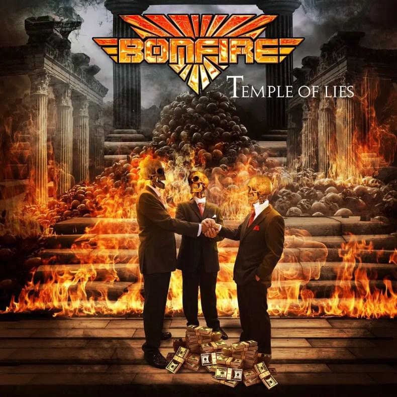 """Bonfire - REVIEW: BONFIRE - """"Temple Of Lies"""""""
