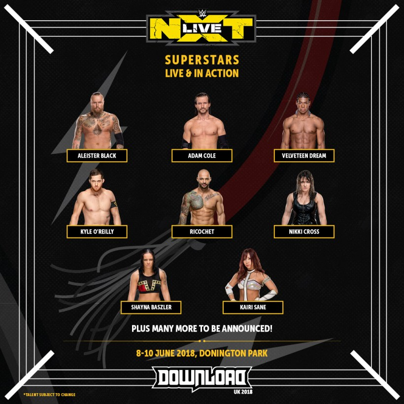 Download NXT 1024x1024 - FESTIVAL REPORT: Download Festival Announces 21 More Bands + Ready To Rumble With WWE NXT