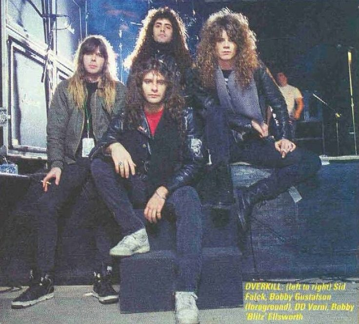 """Overkill - Ex-OVERKILL Guitarist Bobby Gustafson Slams Former Bandmates, Says """"Upcoming DVD Is A Piece Of S**t"""""""