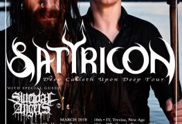 Satyr UK - GIG REVIEW: Satyricon & Suicidal Angels Live at Classic Grand, Glasgow