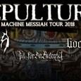 Sepultura EU 2018 - GIG REVIEW: Sepultura, Obscura, Goatwhore & Fit For An Autopsy Live at Tivoli Theatre, Dublin
