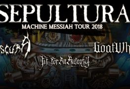 Sepultura EU 2018 - GIG REVIEW: Sepultura, Obscura, Goatwhore & Fit For An Autopsy Live at Tivoli Theatre, Dublin
