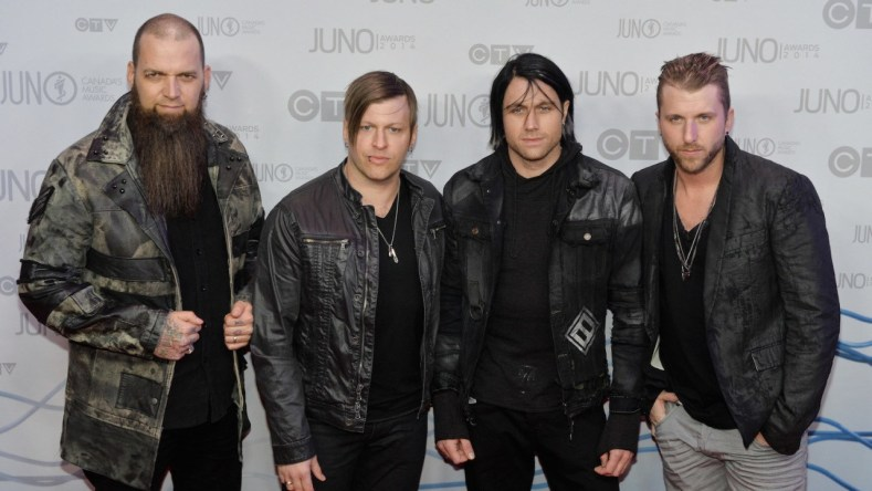 Three Days Grace - INTERVIEW: THREE DAYS GRACE's Neil Sanderson On 'Outsider', The Future Of Rock & Back Packing In Ireland