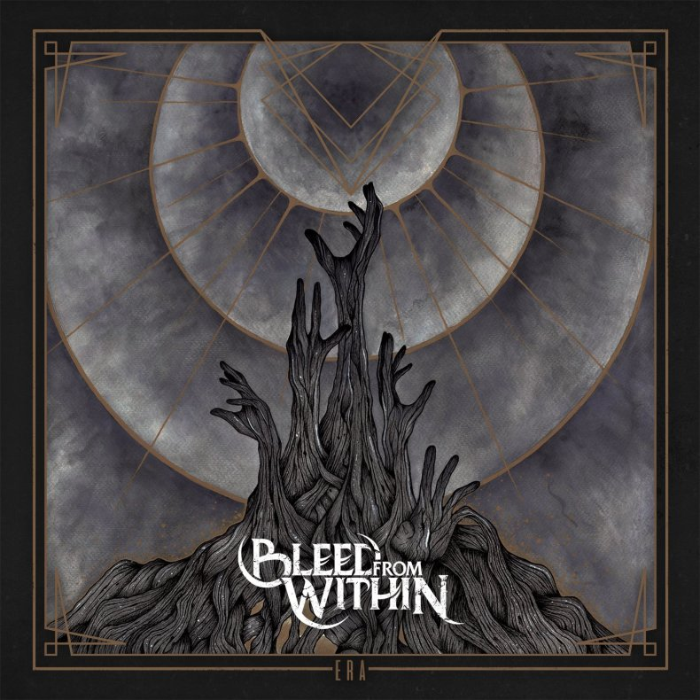 "bleed from within era album cover - REVIEW: BLEED FROM WITHIN - ""Era"""