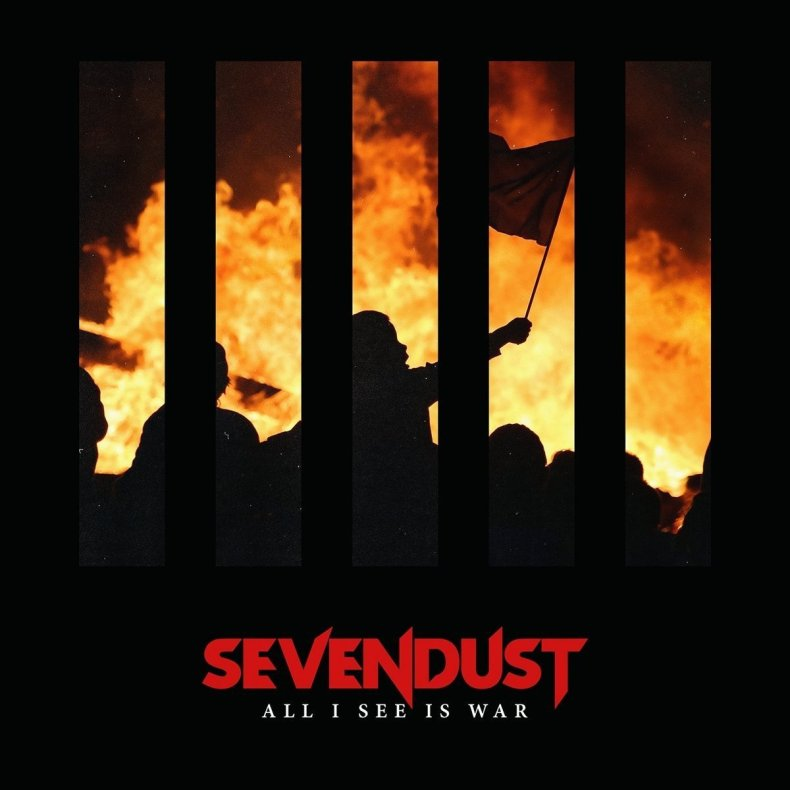 "All I See Is War - REVIEW: SEVENDUST - ""All I See Is War"""
