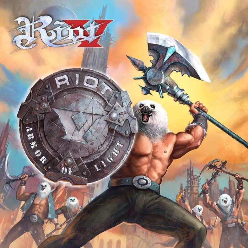 """Armor of light - REVIEW: RIOT V - """"Armor of Light"""""""
