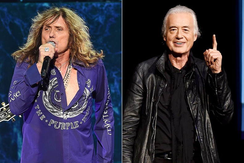 Coverdale Page - David Coverdale Says Proposed COVERDALE PAGE Reissue Will Include New Music