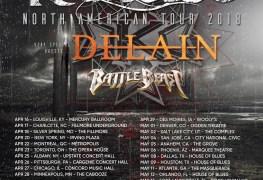 Kamelot Tour - GIG REVIEW: Kamelot, Delain & Battle Beast Live at The Mercury Ballroom, Louisville, KY