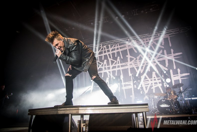 PapaRoach 02.jpg - GALLERY: Papa Roach, Nothing More & Escape The Fate Live at Main Street Armory, Rochester, NY