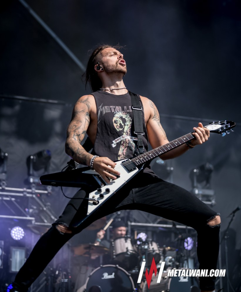 "Bullet for my Valentine  - REVIEW: BULLET FOR MY VALENTINE - ""Gravity"""