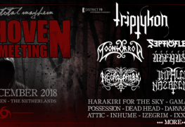 EMM - FESTIVAL REPORT: Eindhoven Metal Meeting Announces Moonsorrow, Impaled Nazarene & More For 2018 Edition