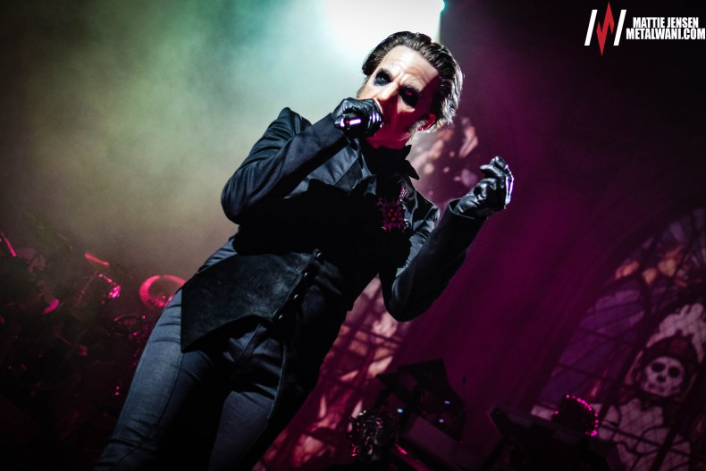 GHOST 12 - Tobias Forge Feels GHOST's Popularity Won't Last Forever