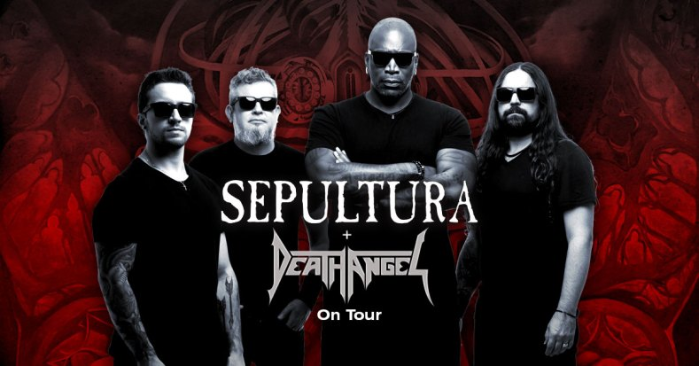 Sepultura - GIG REVIEW: Sepultura, Death Angel & From Crisis To Collapse Live at Eaton's Hill Hotel, Brisbane
