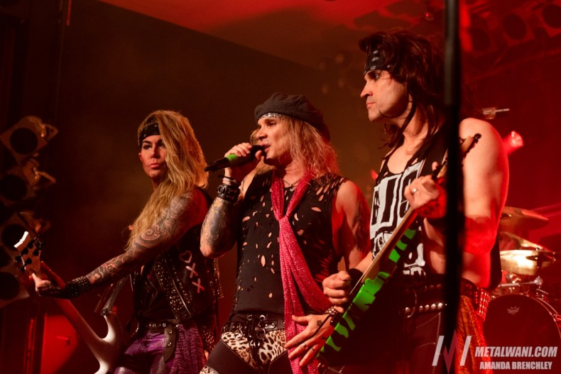 """SteelPanther 200518 16 - STEEL PANTHER's Satchel: """"Motley Crue Hates Us So Much, Especially Tommy Lee. I Don't Know Why"""""""