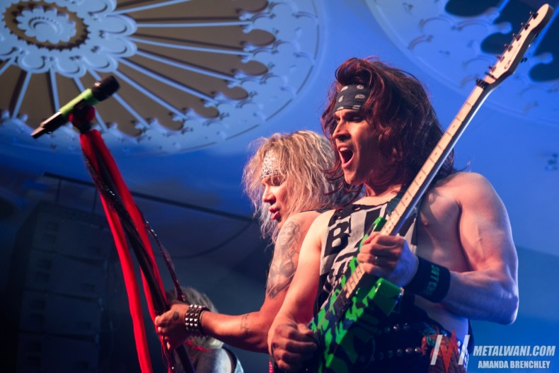 """SteelPanther 200518 6 - INTERVIEW: STEEL PANTHER's Satchel Talks B*tthole Burner Pedal & COVID-19: """"Wash Your Hands & B*lls"""""""