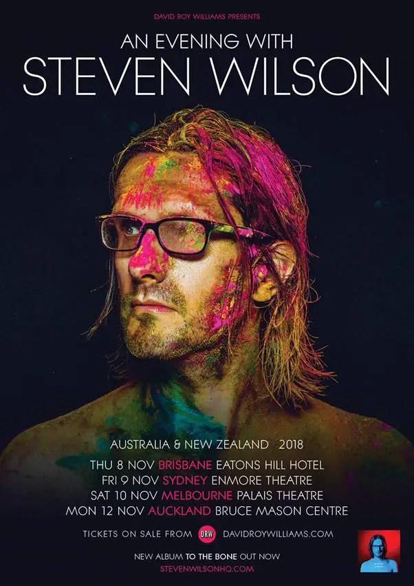 Steven Aus - TOUR: STEVEN WILSON Announces Australian & New Zealand Tour Dates