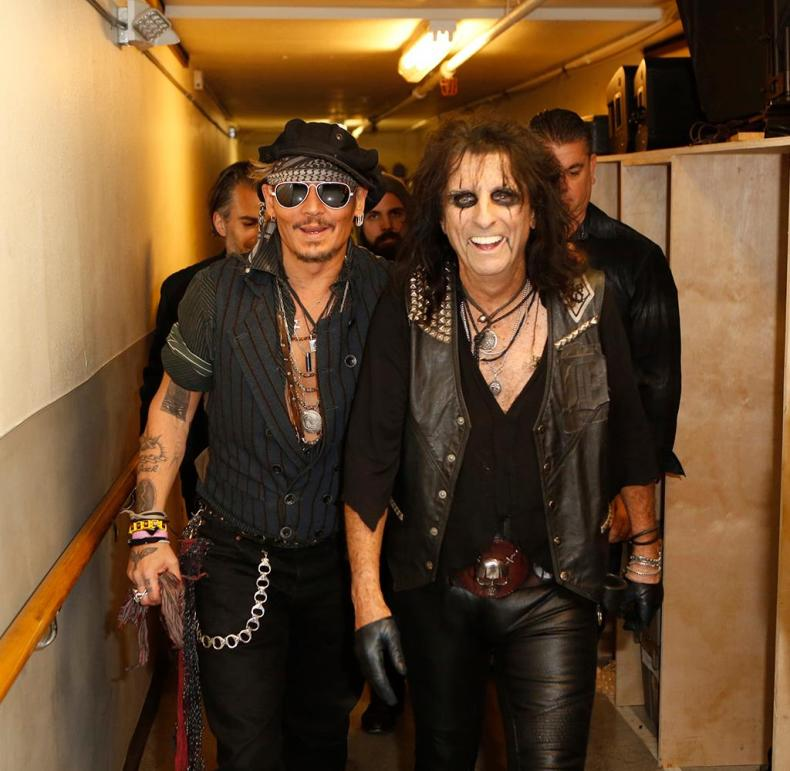cooper depp - Is Joe Perry Taking Guitar Lessons From Johnny Depp? ALICE COOPER Weighs In