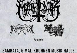 marduk gigposter - GIG REVIEW: Marduk, Ragnarok & Infernal War Live At Kruhnen Musik Halle, Brasov, Romania