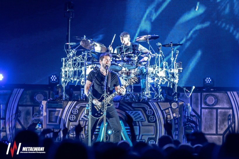 nickelback  6 - GIG REVIEW: An Evening With Nickelback & Seether Live at O2 Arena, London