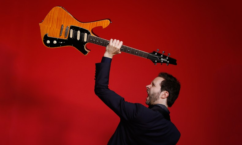 PAUL GILBERT Explains How to Bring Rock Guitar Back Into