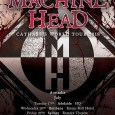 MH - TOUR: MACHINE HEAD Announce 2018 'Catharsis' Australian Tour