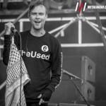 The Used 17BW - GALLERY: ROCK ON THE RANGE 2018 Live at Mapfre Stadium, Columbus, OH – Day 3 (Sunday)