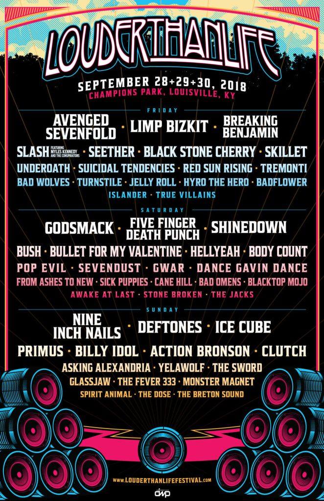 louder than life 2018 - FESTIVAL REPORT: LOUDER THAN LIFE Announces Massive Lineup For 2018 Edition