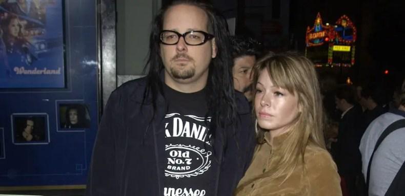Jonathan and Deven Davis - KORN Singer's Wife, Deven Davis, Dead At 39
