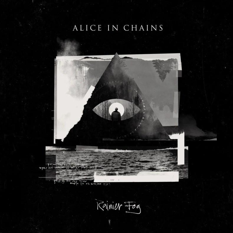 "rainier fog album art - REVIEW: ALICE IN CHAINS - ""Rainier Fog"""