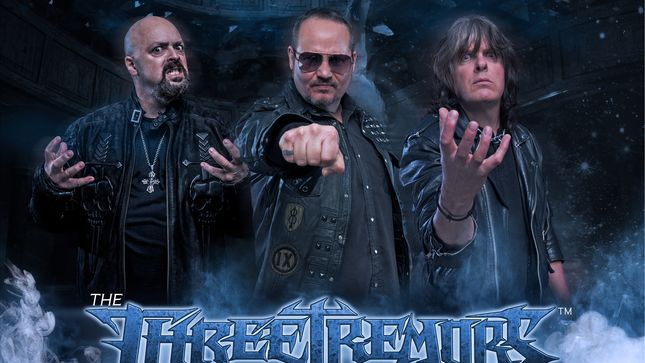 the three tremors - Tim 'Ripper' Owens, Sean Peck & Harry Conklin Announce THE THREE TREMORS Debut Album