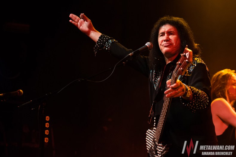 "GeneSimmons 11 - GENE SIMMONS Rates Himself As A Songwriter: ""My Batting Average Is Very Low"""