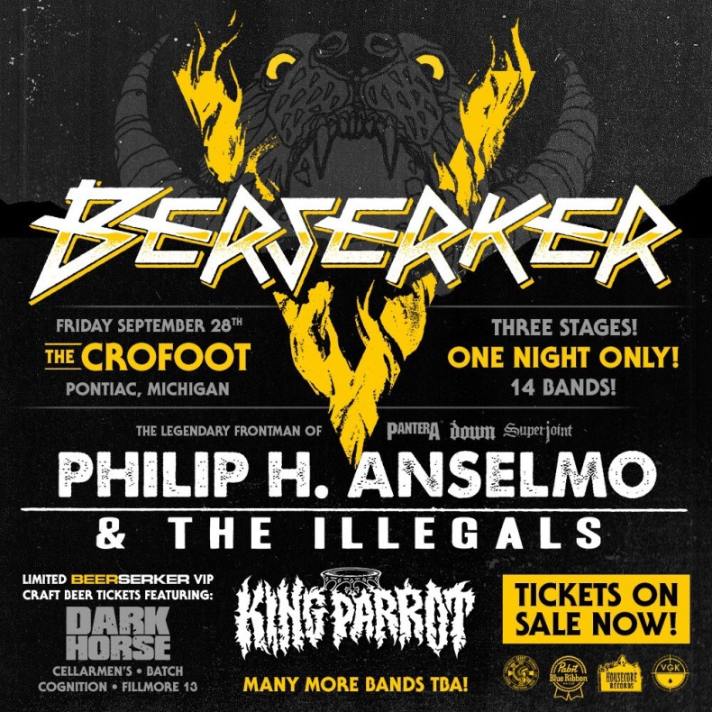 Berserker - GIG REVIEW: BERSERKER MUSIC FEST 2018 Live at the Crofoot in Pontiac, MI