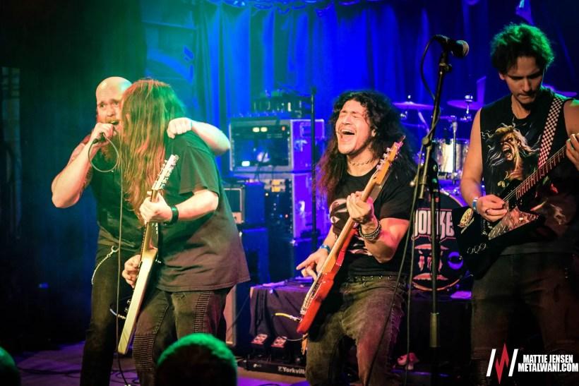 Shokker 5 - GIG REVIEW: Unleash The Archers, Striker & Helion Prime Live at Reggie's, Chicago