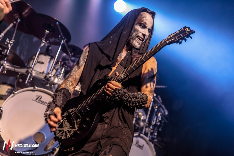 Behemoth 6 - GALLERY: Behemoth, At The Gates & Wolves In The Throne Room Live at Saint Andrews Hall, Detroit, MI