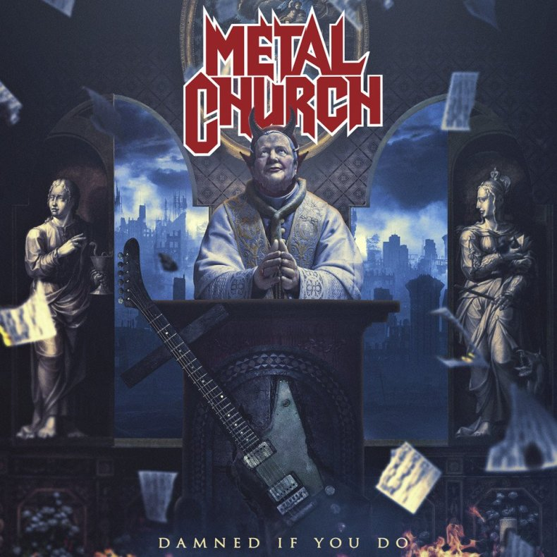 """DIYD cover - REVIEW: METAL CHURCH - """"Damned If You Do"""""""