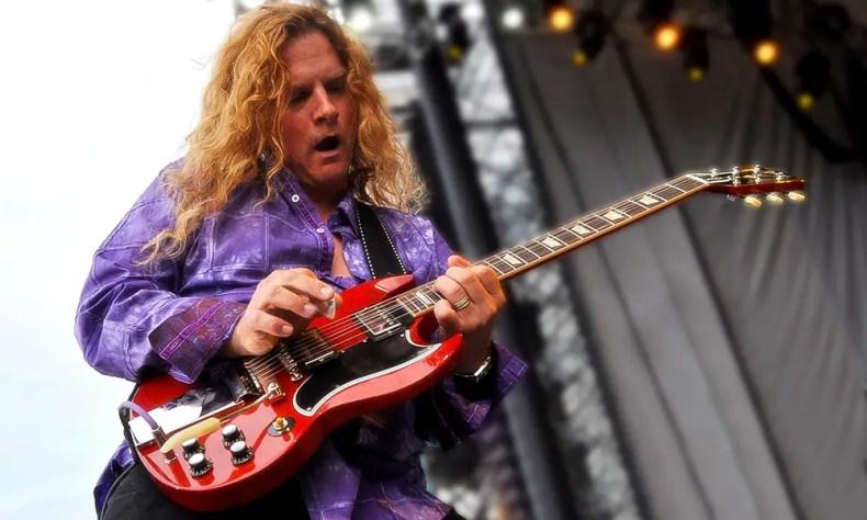 Frank Hannon - TESLA Guitarist Frank Hannon Explains 'Really Powerful' New Album 'Shock'