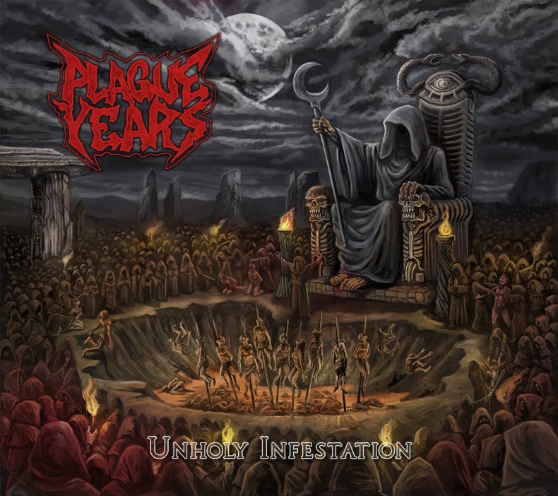 "PlagueYears UnholyInfestation - REVIEW: PLAGUE YEARS - ""Unholy Infestation"" [EP]"