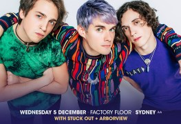 Waterparks - TOUR: GOOD THINGS Festival Announce WATERPARKS Sideshows