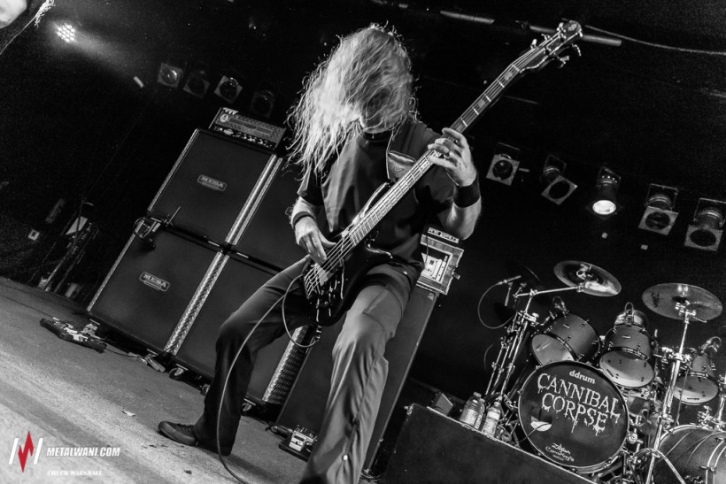 cannibal corpse 7 - GIG REVIEW: Cannibal Corpse, Hate Eternal & Harm's Way Live at Civic Music Hall, Toledo, OH